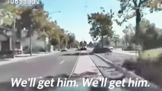 Dashcam Footage Shows Sacramento Cops Trying To Run Over A Mentally Ill Man Before Fatally Shooting Him