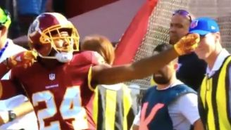 Josh Norman Actually Got Penalized For 'Shooting A Bow And Arrow'