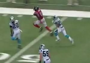 Julio Jones Eclipsed The 300-Yard Receiving Mark On This Explosive 75-Yard Touchdown