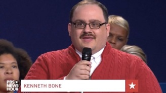 Ken Bone Only Wore His Iconic Red Sweater Because Of A Wardrobe Malfunction
