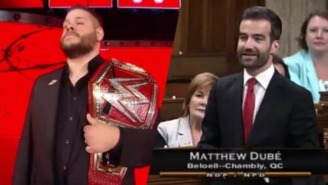 WWE's Kevin Owens Got A Shout Out In The Canadian House Of Commons Of All Places