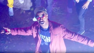 """Kid Cudi's 'Surfin"""" Video Is A Drama-Free, Good Time"""