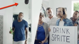 LeBron James' Surreal And Self-Aware Sprite Commercial Is Perfect For Millennials
