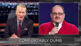 Bill Maher Can't Contain His Disgust For Undecided Voters Like Ken Bone
