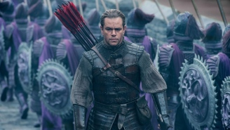 Matt Damon Comments On The Whitewashing Claims Leveled At 'The Great Wall'