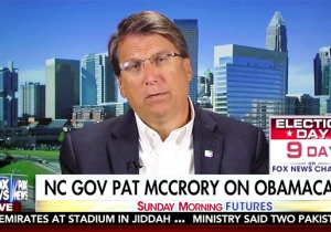 NC Gov. McCrory Marvels That Voters Aren't 'Coming Out,' Seems To Forget His Own Suppression Efforts