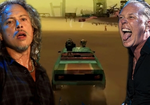 Footage Of The Scrapped Metallica Car Shooter Video Game Has Found The Light Of Day