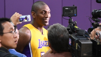 Metta World Peace Turned A Mundane Question Into A Bizarre Rant About Childbirth