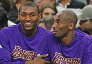 Metta World Peace Once Again Proves That He's Kobe Bryant's Biggest Fan