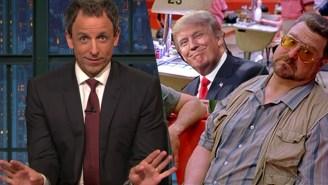 Seth Meyers Uses 'The Big Lebowski' To Give Election 2016 A New Rallying Cry
