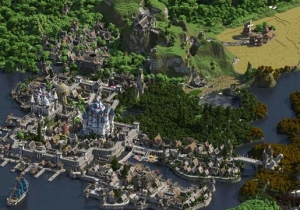 This Is What 4.5 Years Of One Guy Building His Own Fantasy Minecraft World Looks Like