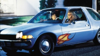 Garth's Flame-Kissed Mirthmobile From 'Wayne's World' Is Going Up For Auction