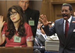 The Verdict Is In On 'New Girl' Cast's 'People Vs OJ' Halloween Costumes: Great!