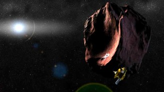 The New Horizons Spacecraft Has Found A Strange Asteroid Teeming With The Ingredients Of Life