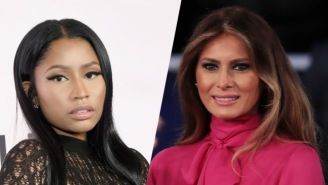 Nicki Minaj Does Not Appear To Think Highly Of Melania Trump