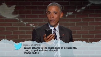 President Obama Returns To 'Kimmel' To Read A Final Round Of Mean Tweets