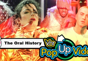 'The Internet Before The Internet': How 'Pop-Up Video' Changed The Way We Devour Pop Culture