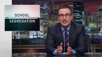 John Oliver Explains How School Segregation Still Exists, And In The Places You'd Least Suspect