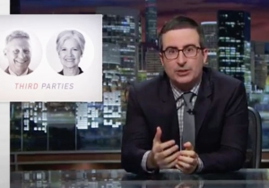 John Oliver Takes A Deep Dive To Seriously Vet Our Third Party Candidates