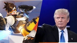 A New Ad Campaign Casts Trump As The Worst 'Overwatch' Player Ever