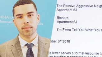 An Urban Leader's Letter To His 'Passive Aggressive' Neighbor Goes Viral, And It's Easy To See Why