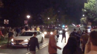 Hundreds Of Penn State Students Took To The Streets To Hunt Fake Clowns