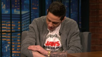 Pete Davidson Is Already Regretting His New 'Harry Potter' Tattoos