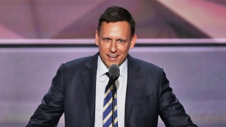 Peter Thiel Seems To Like The Idea Of Donald Trump More Than The Man Himself