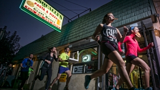 Forget The Beer Mile, The 'Pizza Mile' Is Sure To Become The Newest Running Craze