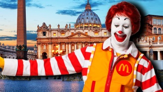 McDonald's Is Coming To The Vatican And Everyone's Pissed