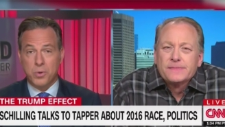 Curt Schilling Mystifies Jake Tapper By Questioning Why Jews Support The Democratic Party On CNN