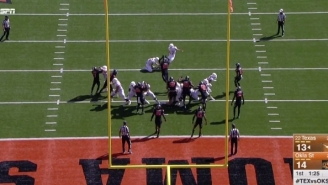 Oklahoma State Blocked A Texas Extra Point And Turned It Into One Of The Best Special Teams Scores Ever