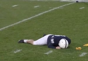 A Minnesota Player Was Ejected After Laying Out Penn State's Huge Kicker With A Vicious Cheap Shot
