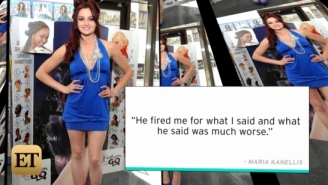 Maria Kanellis Speaks Out About Donald Trump, Who Once Fired Her For 'Locker Room Talk'