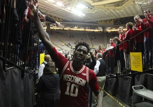 Wisconsin Hoops Star Nigel Hayes Continued His Protest Of The NCAA At 'College GameDay'