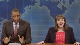 Vanessa Bayer Probably Made Some NBC Execs Uncomfortable With Her 'Weekend Update' Appearance