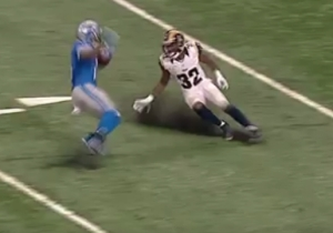 Golden Tate Juked A Pair Of Defenders So Badly That They Looked Like They Slipped On Ice