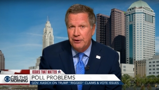 John Kasich: Trump's 'Silly' Election Rigging Claim Is Like Insisting The Moon Landing Was Fake