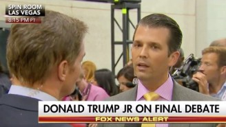 Donald Trump Jr. Claims His Father Has Taken 'A Step Down' By Running For President
