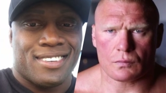 Bobby Lashley Thinks Going Up Against Brock Lesnar Would Be 'A Fun Fight'