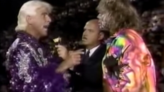 Ric Flair Says He Had The Worst Matches Of His Career Against The Ultimate Warrior