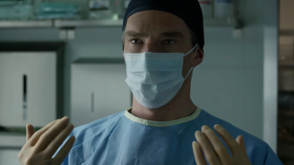 The award for MOST awkward product placement goes to Marvel's 'Doctor Strange'