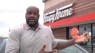 Shaq Is Now A Krispy Kreme Spokesman Because He Absolutely Loves Doughnuts