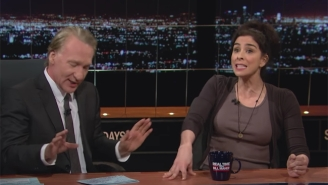 Bill Maher And Sarah Silverman Explain Why The 'Bernie Or Bust' Crowd Shouldn't Vote For Gary Johnson