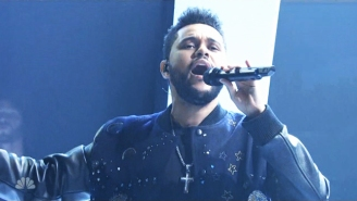Watch The Weeknd Solidify His 'Starboy' Status on 'SNL'