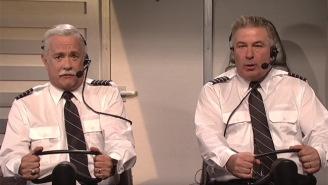 Tom Hanks Reveals The Jealous Side Of 'Sully' When He's Forced To Co-Pilot On 'SNL'