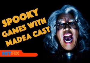 Spooky games with Boo! A Madea Halloween cast