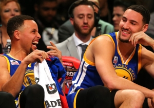 Klay Thompson Had An All-Time Sneaker Joke In Kevin Durant's Pitch Meeting With The Warriors