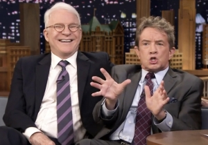 Martin Short And Steve Martin Recall The First Time They Met On '¡Three Amigos!'