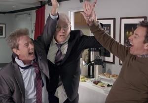 Steve Martin And Martin Short Seal Their Comedy God Status With A Memorable 'Tonight Show' Appearance
